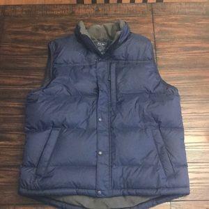LL bean men's puffer vest